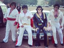 Elvis, banger rally, charity rally, road trip