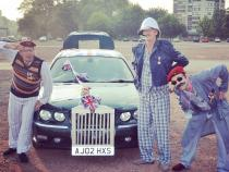 old boys, banger rally, charity rally, road trip