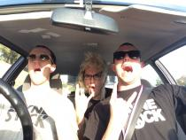 Wayne's World, banger rally, charity rally, road trip